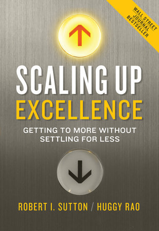 Book Cover Scaling UP Excellence